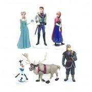 Frozen 6li Set, Karlar Ülkesi Oyuncakları, Action Figüre