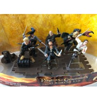 Disney Store Pirates Caribbean Dead Man's Chest Sparrow