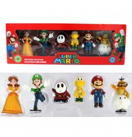 Action Figure, Super Mario Bros