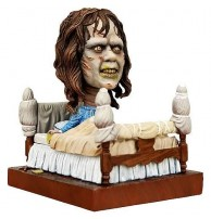 Neca Exorcist Regan in Bed Head Knocker