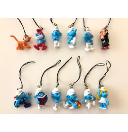 Action Figure Şirinler Anahtarlık Smurfs