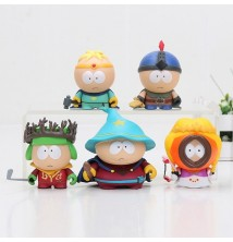 South Park Figure 5 Parça Seti 6cm