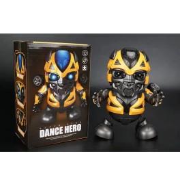 Bumblebee Transformers Dans Eden Işıklı Robot