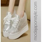 Japon Style Gizli Kama Topuk Spor Ayakkabı