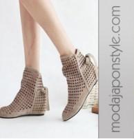 Japon Style Sandalet Terlik Platform