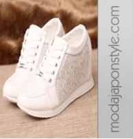Japon Style Spor Ayakkabı Gizli Topuk