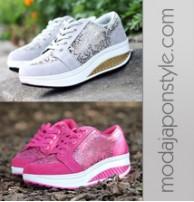 Japon Style Bayan Spor Ayakkabı