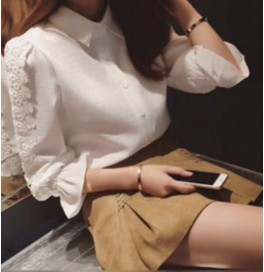 Japon Style Dantel Bluz