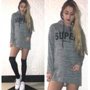 Japon Style Kapşonlu Super Today Tunik