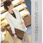 Japon Style Leopar Çanta