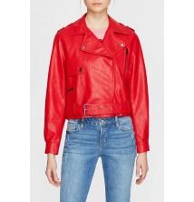Mavi Jeans marka, Fermuarlı Kırmızı ceket