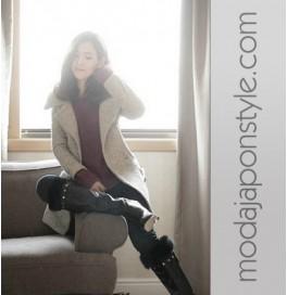 Japon Style Bayan Kaban Mont