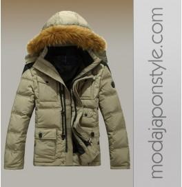 Japon Style Erkek Kaban Kışlık