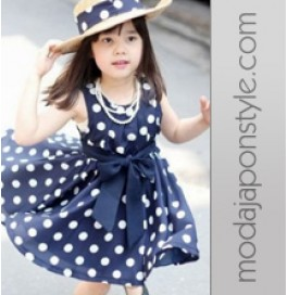 Japon Style Çocuk Elbisesi