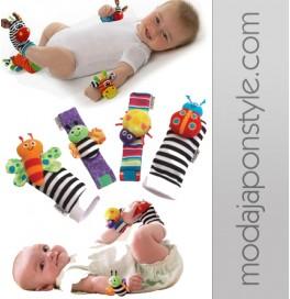 Japon Style Bebek Çorabı ve Oyuncak
