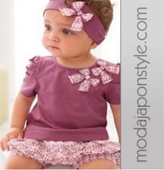 Japon Style Çocuk Bebek Kıyafeti Takımı