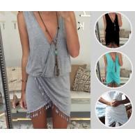 Japon Style Yazlık Elbise