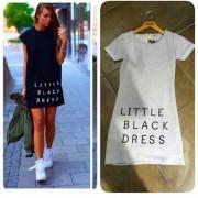 Japon Style Little Black Elbise