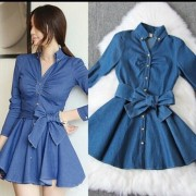 Japon Style Kot Elbise