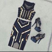 Japon Style Elbise 2 Parça