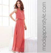 Japon Style Uzun Elbise 3 Renk