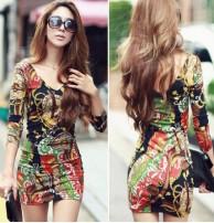Japon Style Mini Elbise Bayan Sepeti