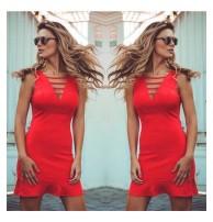 Mini Kırmızı Elbise