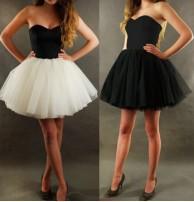 Japon Trend Tüllü Elbise
