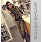 Japon Style 3 Parça Eşofman Takımı