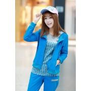 Japon Style Eşofman Takımı Mavi