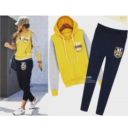 Japon Style Eşofman Takımı Sarı