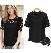 Kore Giyim Gömlek Bluz Dantel
