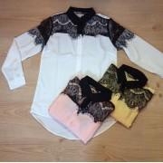 Japon Style Giyim Bluz Dantel Gömlek