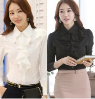 Japon Style Firfir Detay Gömlek