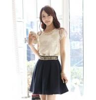 Kore Giyim Dantel Bluz