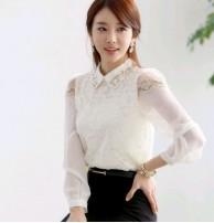 Kore Giyim Bluz Gömlek Dantelli