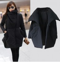 Japon Style Siyah Tarz Kaban
