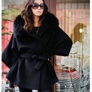 Japon Style Kürklü Kaban