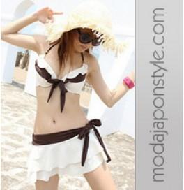 Japon Style Bikini 3 Parça