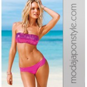 Japon Style Pembe Bikini Modelleri