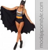 Japon Style Sexy Batman Mayo Kostüm