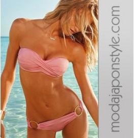 Japon Style Pembe Bikini