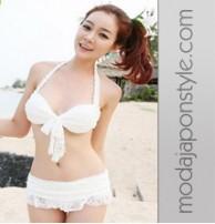 Japon Style Mayo Bikini Dört Parça