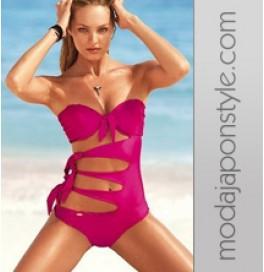 Japon Style Bikini Yandan Kesik Model