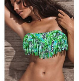 Japon Style Püsküllü Bikini Üstü