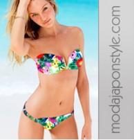 Japon Style Sexy Karışık Renkli Bikini