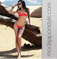 Japon Style Zincirli Bikini Mayo
