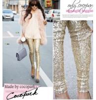 Japon Style Payetli Pantolon