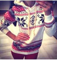 Japon Style, Bayan Kapşonlu Sweatshirt