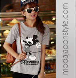 Japon Style Tshirt Mickey Mouse